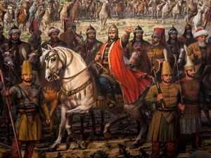 تنازل السلطان مراد لنجله محمد الفاتح