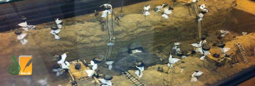 ضوابط نجاح العمل الجماعي في حفر الخندق